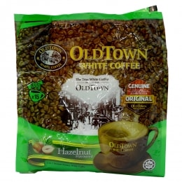 OLD TOWN HAZELNUT WHITE COFFEE