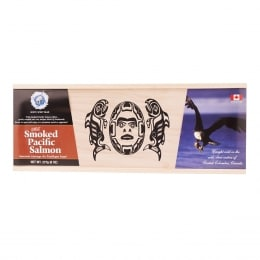 White Sprit Bear Smoked Wild Salmon Gift Box