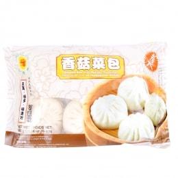 Gdl Steamed Bun W/ Mushroom