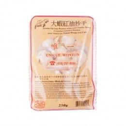 Uw Jumbo Shrimp Chilli Oil Wonton
