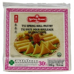 TYJ SPRING ROLL PASTRY 10IN