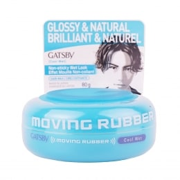 Gatsby Moving Rubber Cool Wet Hair Wax