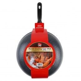 Queen Art Marble Coating Nonstick Wok 30Cm