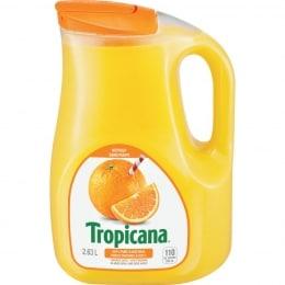 TROPICANA PURE ORANGE JUICE-NO PULP