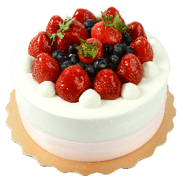 8 Inch Strawberry Party Cake