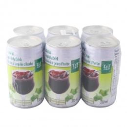 T&T Grass Jelly Drink 330mlx6