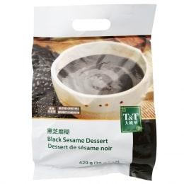 T&T Black Sesame Dessert 35gX12 packs