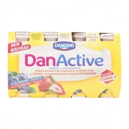 DANACTIVE STRAW/BLUEBERRY