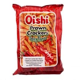 OISHI SPICY PRAWN CRACKERS