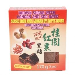 Chuangs Longan & Red Dates Brown Sugar Cube