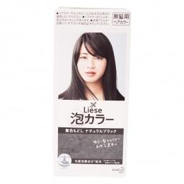Kao Liese Bubble Hair Color Natural Black