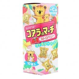 Lotte Koala March Strawberry Biscuit
