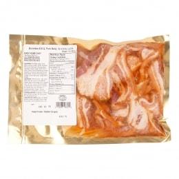 Boston Spicy Korean Bbq Pork Belly