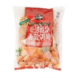 韩国火锅杂锦鱼饼鱼丸