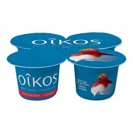 Danone Strawberry Oikos Yogurt 100gx4