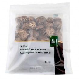 T&T Dried Shiitake Mushrooms