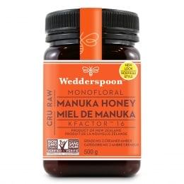 Wedderspoon Raw Manuka Honey Kfactor16