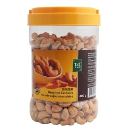 T&T Unsalted Cashews