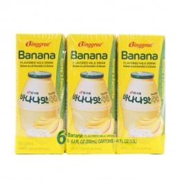 冰极香蕉牛奶饮料