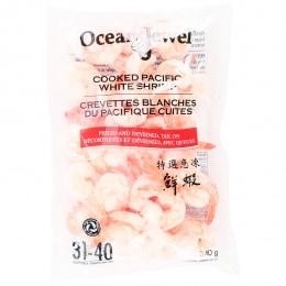 Oj Cooked Shrimp Cpto31/40 340G