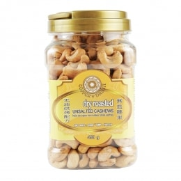COPPERDRUM DRY ROASTED UNSALTED CASHEWS