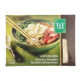 T&T Fine Dry Noodles
