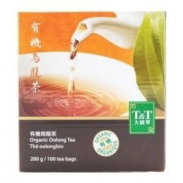 T&T ORGANIC OOLONG TEA (TEA BAGS)