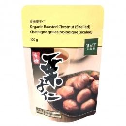 T&T Organic Roasted Peeled Chestnut