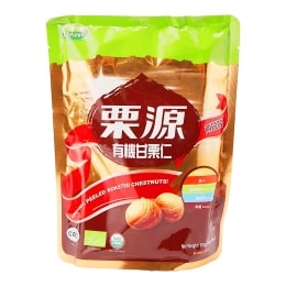LIYUAN ORGANIC PEELED ROASTED CHESTNUT