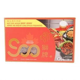 Soo Hot Five Spices Beef Jerky
