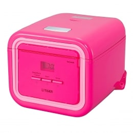 TIGER TACOOK PINK RICE COOKER 3 CUPS