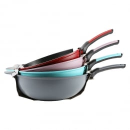 PORTO DIAMOND COATING NONSTICK WOK 34CM