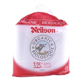 NEILSON NLS 4L 3.25% ORG MILK - BAG