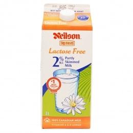 Neilson Ttt 2L 2% Lactose/F Milk - Ctn