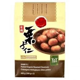 T&T Peeled Organic Roasted Chestnuts