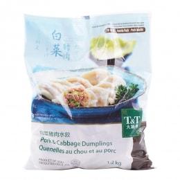 T&T白菜猪肉水饺V