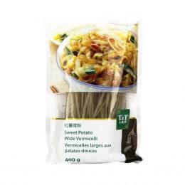 T&T Sweet Potato Vermicelli(Wide) 400g