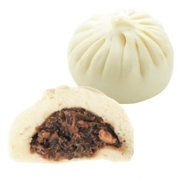 T&T Kitchen Pork & Pickled Chinese Mustard Buns (Cold) 4 Pcs