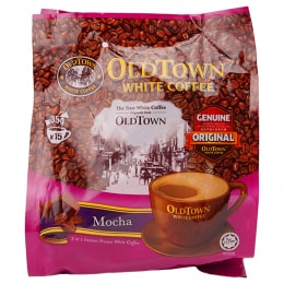 Old Town Mocha 3 In 1 White Coffee