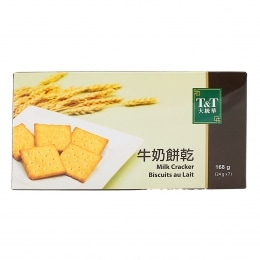 T&T Milk Cracker