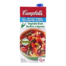 Campbell Low Sodium Vegetable Broth