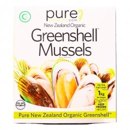 New Zealand Organic Greenshell Mussel