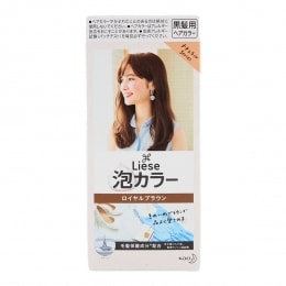 Kao Liese Bubble Hair Color Royal Brown