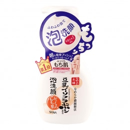 Sana Soy Milk Bubble Facial Wash
