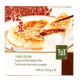 T&T Layered  Red Bean Pie