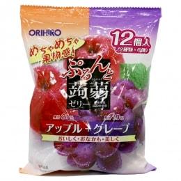 立喜乐苹果葡萄蒟蒻果冻