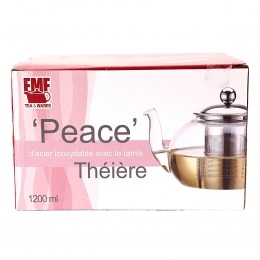 EMF PEACE GLASS TEAPOT