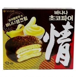 ORION BANANA FLAV CHOCO PIE