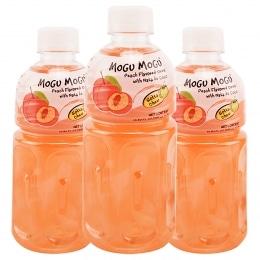 摩酷椰果蜜桃汁