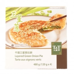 T&T Layered Green Onion Pie